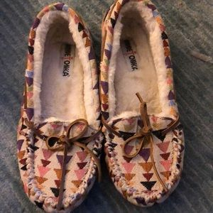 Minnetonka cozy slippers